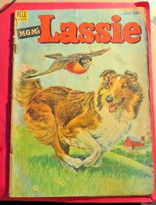 Lassie #14 Dell Comics Golden age (1954)  CB306