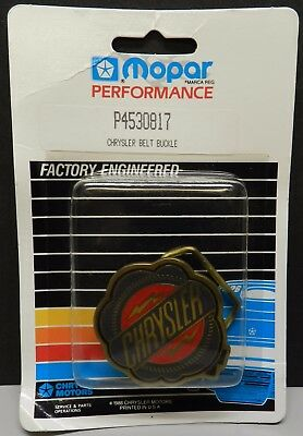 Nos Parts Belt Buckle 200 300 Hurst Performance Mopar Dealer Dodge Boys Chrysler