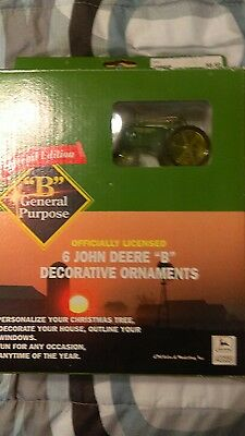 Officially Licensed John Deere B Decorative Ornaments Special Edition Christmas