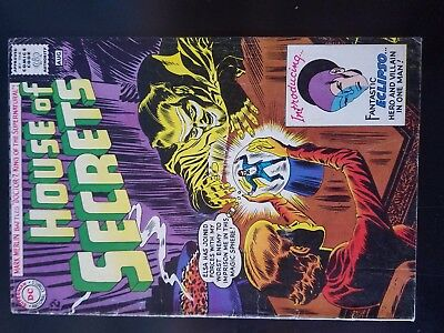 House of Secrets #61 1st Eclipso no reserve