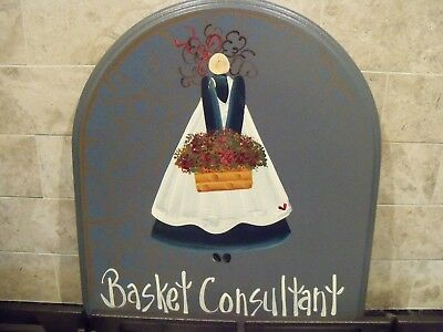 Basket Consultant (Longaberger) Sign-Great for the Kitchen/Front Door!