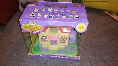 HAMTARO HAM HAM HOUSE, FIGURES, ACCESSORIES, RARE EUC anime