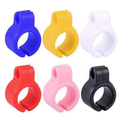 2Pcs Silicone Ring Finger Hand Rack Regular For Smoker Smoking Cigarette Holder