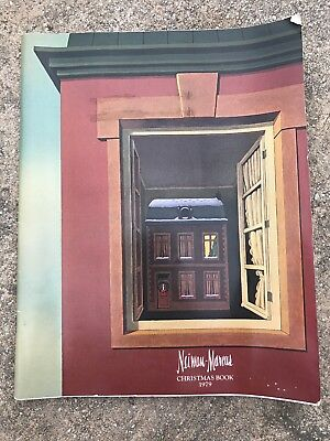 Estate 1979 Neiman-Marcus Christmas Book Catalogue with Art Cover