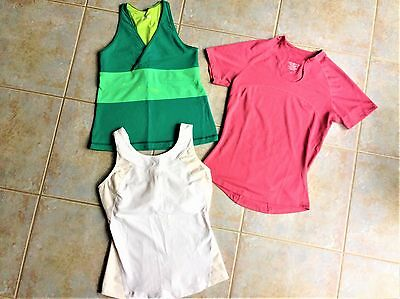 Three Lululemon Women's Tops