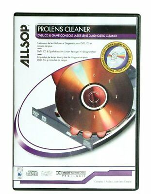 Allsop ProLens Laser Lens Diagnostic Cleaner for DVD and CD