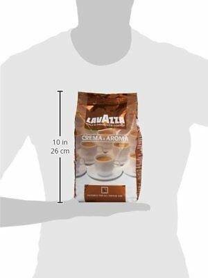 Lavazza Crema e Aroma Coffee Beans 1Kg  Pack of 1