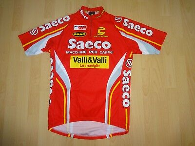 83548f690 VINTAGE CANNONDALE SAECO cycling jersey shirt -  40.00