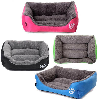 Dog Bed Pet Kennel House Cozy Warm Cushion Pad Mat Puppy Cat Medium Small