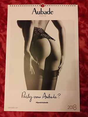 Calendrier Aubade 2018 Collection Collector + Pochette Lingerie Lise Charmel !!!