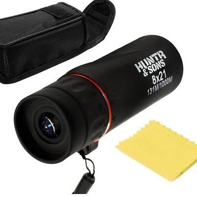 Compact Tactical Monocular Spy Scope - Best For Hunting, Sightseeing, Golf, Etc