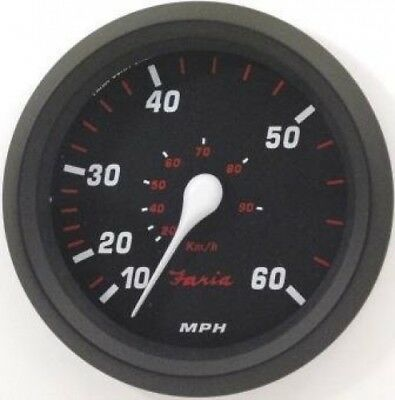 Faria Professional Red Speedo, 60 MPH. Shipping is Free