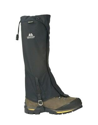 (L Unisex, Black) - Mountain Equipment Glacier Boot Gaiter. Shipping is Free