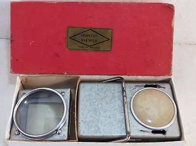 Vintage Hunter Slide Viewer in Box, Made in England (6536)