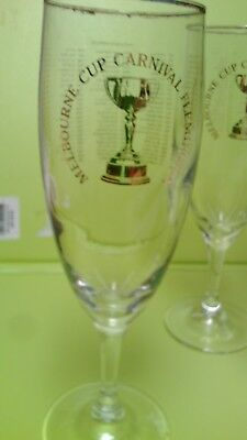 collectable vintage wine flutes