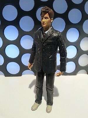 "Doctor Who 10Th Tenth Doctor Injured The End Of Time Pinstripe Suit 5"" Figure"
