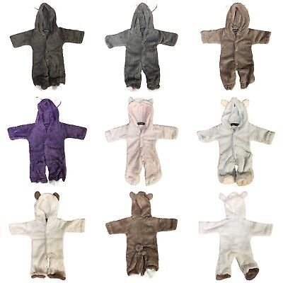 Baby Grow Newborn Infant Romper Hooded Bear Jumpsuit Boys Girls Animal Cosplay