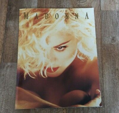 MADONNA FAN Book Zeitschrift Tour Book A3 1990 Top
