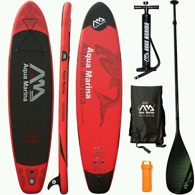 Aqua Marina Monster 2017 Stand Up Paddle Board Inflatable Paddel Pumpe Sup