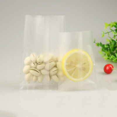 Heat Seal Matte Bags Clear Plastic Open Top Vacuum Bag Food Storage Pouches