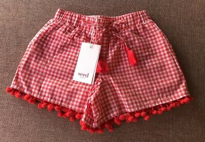 Seed Heritage Little Girls Shorts Size 6 Years RRP$39.95