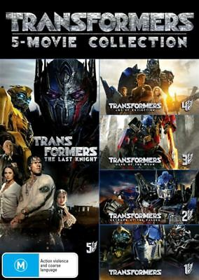 Transformers: 5-Movie Collection (Transformers/Revenge of the Fallen/Dark - NEW