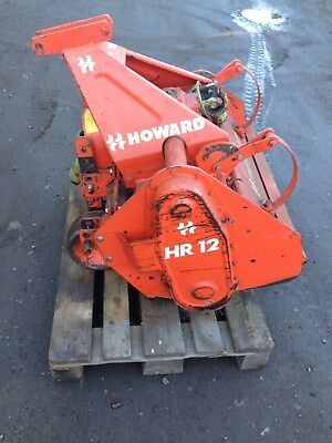 HR 12 Howard  Bodenfräse Traktor Schlepper Holder Howard guter Zustand