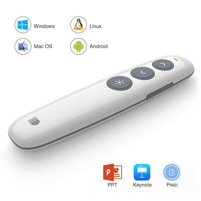 Doosl 2.4GHz Wireless USB Presenter Powerpoint PPT Fernbedienung Laserpointer