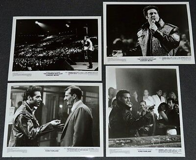 ANDREW DICE CLAY CONCERT MOVIE/FORD FAIRLANE 1990 ORIG. 4 DIFF 8x10 STILL PHOTOS