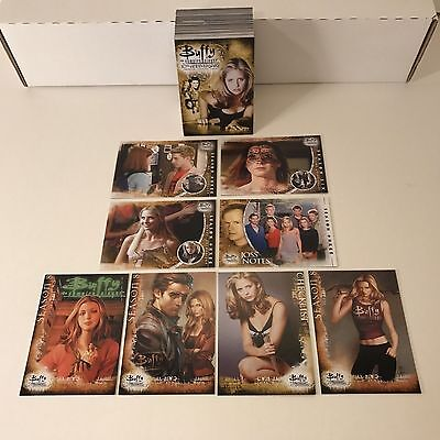Buffy The Vampire Slayer (TVS) 10th Anniversary - Complete Card SET (90) 2007 NM