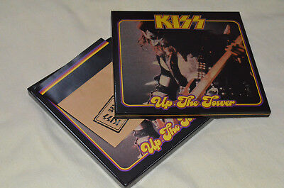 Kiss Up the Tower ! 2LP Vinyl+2 Picture Disc+Poster+Photos !