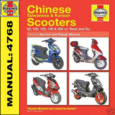 Chinois Scooter Manuel Haynes Xor 50 125 Ideo 50 Craqueur 50 Evolution 50 HB4768