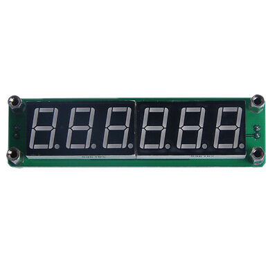 1~1000MHz Signal Frequency Counter Cymometer meter 6 LED FOR Ham Radio Green