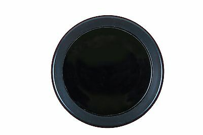 Aftermarket Steering Wheel Horn Button - Black Plain Blank.