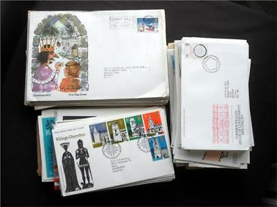 12368aj GB c1970s  FIRST DAY COVERS COLLECTION COMMEMORATIVES - USEFUL - VIEW ??