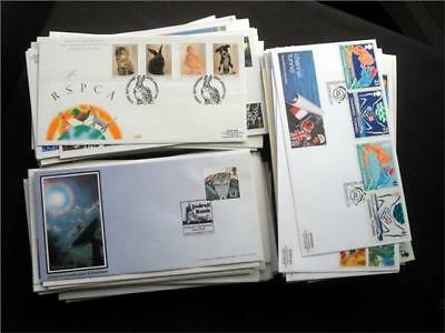 12375aj GB c1990s  FIRST DAY COVERS COLLECTION COMMEMORATIVES - USEFUL SELECTION