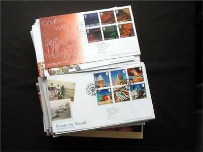 12376aj  GB c2000s COMMEMORATIVE FIRST DAY COVERS COLLECTION - NICE SELECTION ??