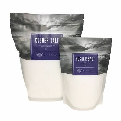 Misty Gully Kosher Salt - Australian Made Koshering Salt - 3kg