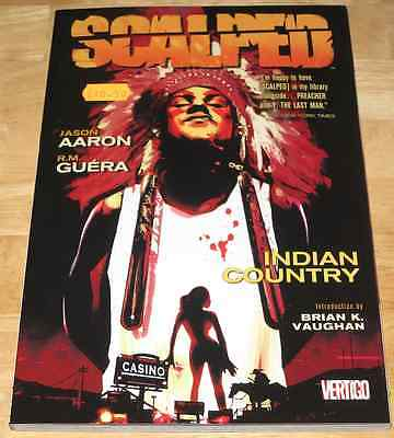 Jason Aaron SCALPED VOL.1 R.M. Guera VERTIGO Graphic Novel U.S. EDITION