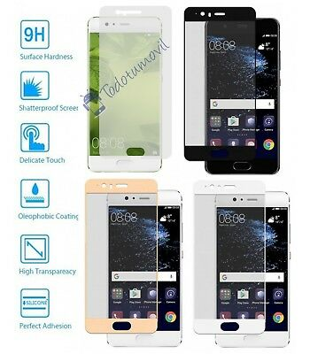 Protector glass Tempered Full 3D 9H for Huawei Ascend P10 Choose Colour
