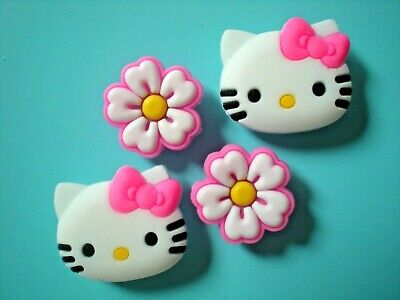 Jibbitz Croc Clog Shoe Charms Button Hello Kitty Accessorie Bracelet WristBand