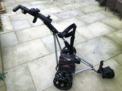 PowaKaddy Electric Golf Trolley / Cart + Bag, Battery & Charger & accessories