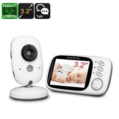 "Wireless Baby Monitor - 3.2"", , Dual-Way Audio, Wireless, Music, 5m Night Vsion"