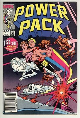 Power Pack 1 - 1st Appearance - Movie Coming - Hot Book - Newsstand - 9.0 VF/NM
