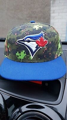 toronto blue jays New Era cap Extremely rare in UK salute to service camo