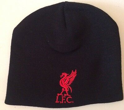 Liverpool FC Black Toddlers Infants Kids Hat Christmas Gift Present Idea