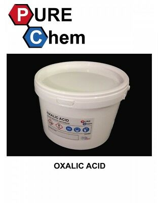 1KG OXALIC ACID in SAFE SEALED TUB -HULL deck GRP Cleaner& rust remover