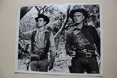 The Magnificent Seven - Yul Brynner - Vintage  Photo With Snype #1