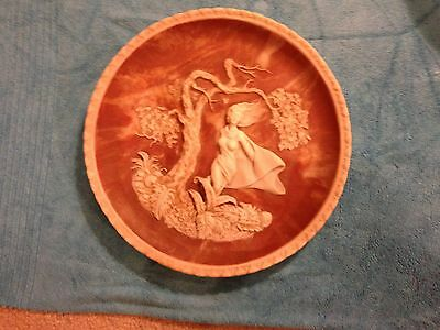 Incolay Studios's Phantom of Delight Collectors 3D plate By Gayle Bright Appleby