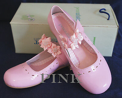 NIB G312 Flower Girl/Party DRESS SHOES PINK Sz 5 Wedding/Formal Event